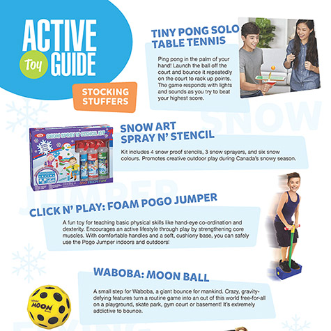 Active Stocking Stuffers